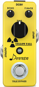 Donner Yellow Fall Vintage Pure Analog Delay Guitar Pedal