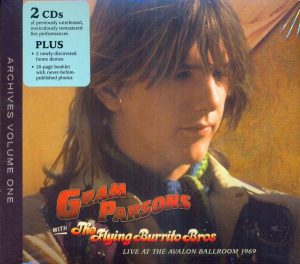 Gram Parsons Archives Vol.1: Live at the Avalon Ballroom 1969